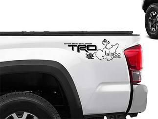 Toyota Racing Development TRD Jalisco edition Mexico 4X4 bed side Graphic decals stickers 2