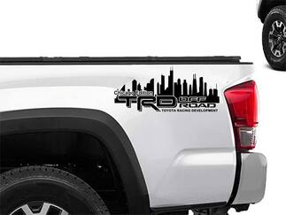 Toyota Racing Development TRD chicago edition 4X4 bed side Graphic decals stickers 2