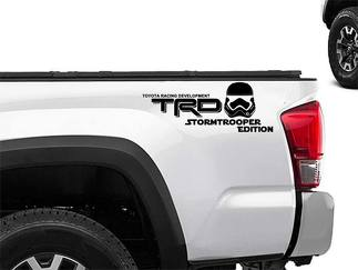Toyota Racing Development TRD stormtrooper edition 4X4 bed side Graphic decals stickers 2