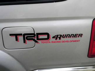 Toyota Racing Development TRD 4Runner bed side graphic decals stickers