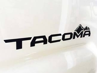Toyota Tacoma mountains bed side Graphic decals stickers 2