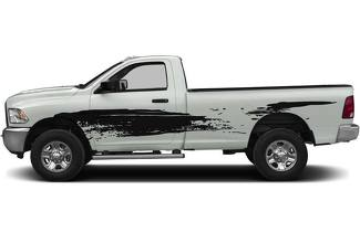 MUD splash truck decal sticker fits to Dodge RAM Toyota Tundra Tacoma Ford F150 Chevy Silverado