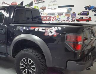 Ford F150 Raptor 2017 USA Flag  AMERICAN FLAG STYLE side bed graphics decal sticker