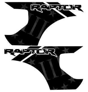 Ford Raptor F-150 3 Percenters MOLON LABE Bed Graphics  Vinyl Decal