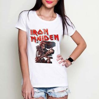 Iron Maiden rock white or black tees t-shirt
