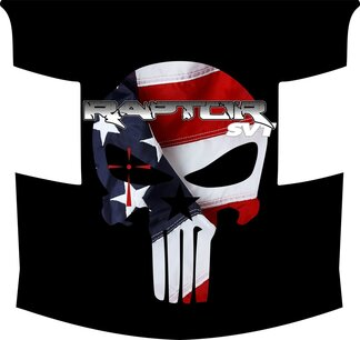 Ford Raptor F-150 Hood Graphics CHRIS KYLE EDITION 2 Vinyl Decal