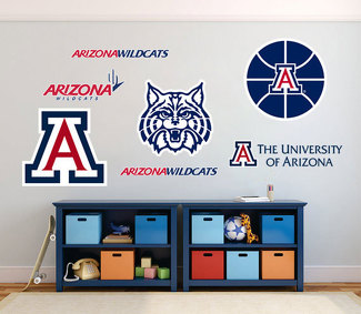 Arizona Wildcats University of Arizona NBA fan wall vehicle notebook etc decals stickers