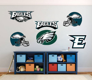 Philadelphia Eagles  National Football League (NFL) fan wall vehicle notebook etc decals stickers