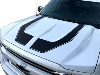 Rally Edition Style Hood Decals Z71 Chevrolet Silverado 1500