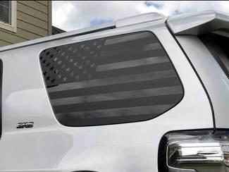 Toyota 4Runner American Flag Seitenviertel Fenster Aufkleber Für 2010 - 2017 5. Gen.