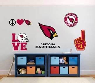 Arizona Cardinals American football team National Football League (NFL) fan wall vehicle notebook etc decals stickers
