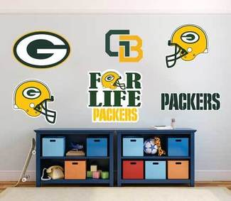 Green Bay Packers American football team National Football League (NFL) fan wall vehicle notebook etc decals stickers