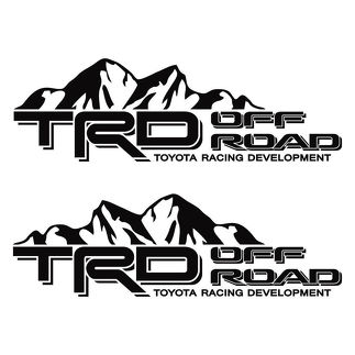 Toyota TRD Truck Off Road Racing Decals Tacoma / Tundra die-cut Vinyl Sticker