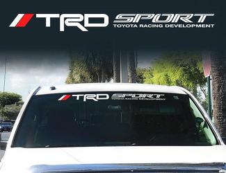Toyota TRD Windshield off road Racing Development 4x4 Decal Sticker Vinyl