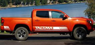 2X TOYOTA TACOMA side body decal vinyl graphics racing sticker hight quality