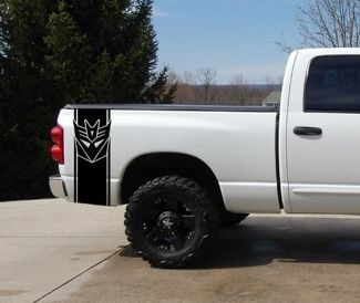 Transformers Truck Bed Stripe Decal Set 2 Chevy Dodge Nissan Toyota Ford GMC