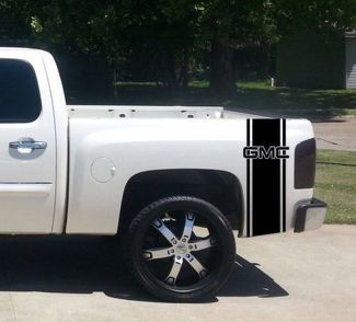 Custom Truck GMC Bed Stripe Decal Set of (2) for GMC Pickup