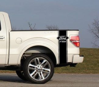 Custom Truck Bed Stripe Decal Set of (2) for Ford F-150 Super Duty Pickup