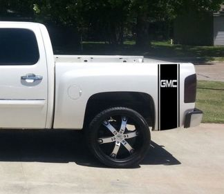 GMC Pickup Truck GMC Bed Stripe Custom Decal Set of (2)