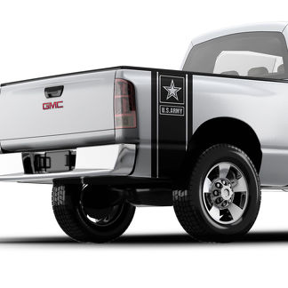 USMC Marine Bulldog pickup truck bed band vinyl decal sticker Chevy Dodge Nissan Toyota Ford GMC