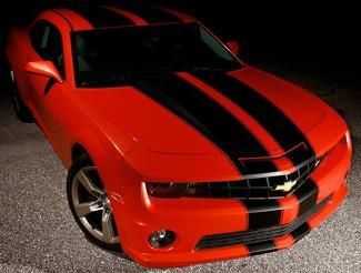 2010 2013 Chevy Camaro Tapered Double Rally Racing Stripes Decal 2012 2011 SS V6