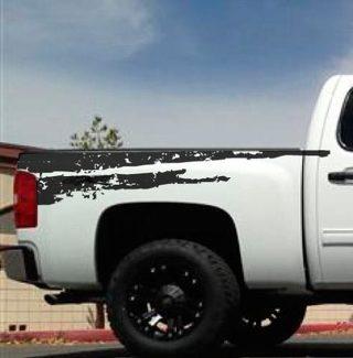 Chevy Mud Dirt Splatter Markierungen angehoben Grafik Aufkleber Aufkleber Van Truck Fahrzeug SUV