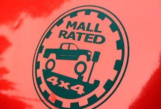 Toyota Tacoma Mall Rated Decal