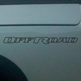 Dodge Ram Rebel Logo Side Flare Truck Vinyl Decal Graphic Off Road