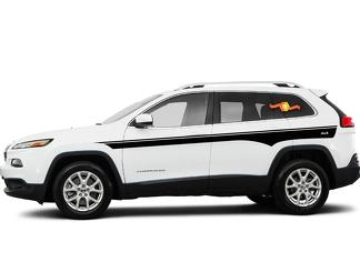2014-2017 Jeep Cherokee Chief Vinyl Graphics Kit