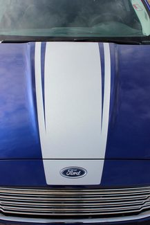 2013 - 2020 Ford Fusion Dagger Hood Graphic Kit