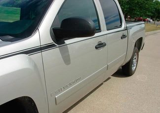 2006 - 2020 Quick Silver Silverado Stripe Kit