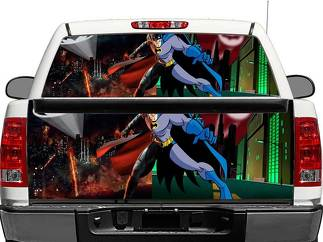 Batman City Rear Window OR tailgate Decal Sticker Pick-up Truck SUV Car