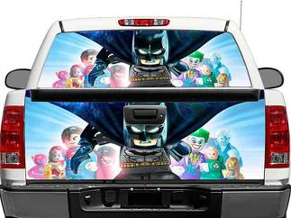 Batman Lego 2 Rear Window OR tailgate Decal Sticker Pick-up Truck SUV Car