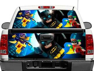 Batman Lego Rear Window OR tailgate Decal Sticker Pick-up Truck SUV Car