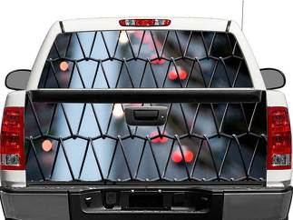 Fence City Rear Window OR tailgate Decal Sticker Pick-up Truck SUV Car