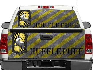Hufflepuff Harry Potter House Rear Window OR tailgate Decal Sticker Pick-up Truck SUV Car