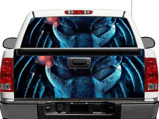 Predator Rear Window OR tailgate Decal Sticker Pick-up Truck SUV Car