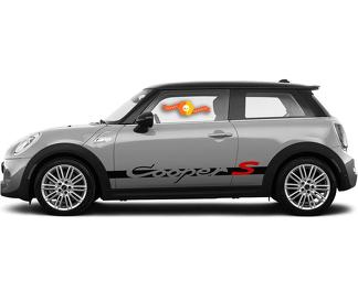 2001-2016 MINI Cooper Body Side Graphics Kit 2 BMW