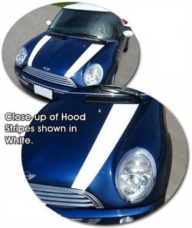 02-14 MINI Cooper Clubman & S Hood Graphics Kit