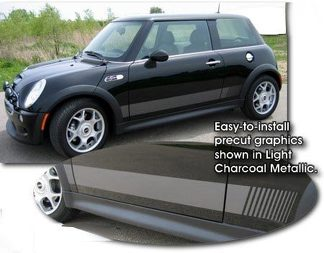2002-2014 MINI Cooper Body Side Graphic Kit 1