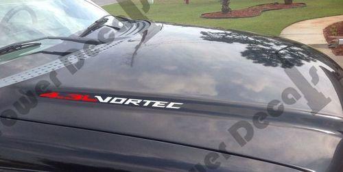 2 Sätze 4.3L VORTEC Hood Aufkleber Emblem Chevy Silverado GMC Sierra Avalanche