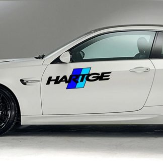 RACING SPONSORS DECAL STICKER. HARTGE 1