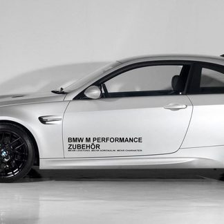 BMW M MEITITIE MOTOR SPORTS DECAL STICKER