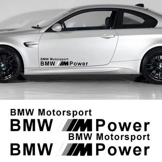 BMW M POWER MOTOR SPORTS DECAL STICKER