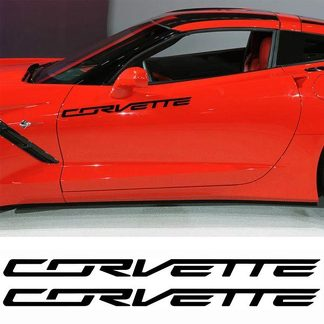 CHEVROLET CORVETTE MOTOR SPORTS DECAL STICKER