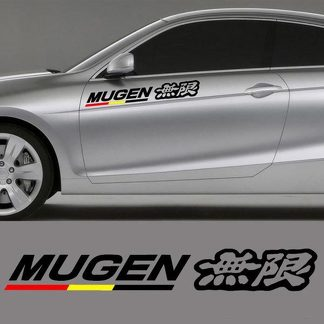 HONDA MUGEN DECAL STICKER