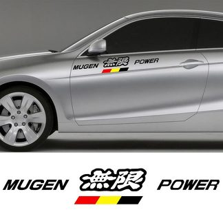 HONDA MUGEN POWER DECAL STICKER
