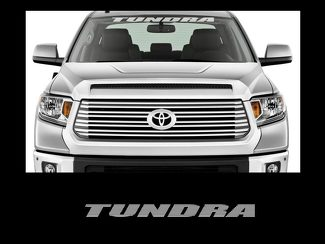 Tundra Front Windshield Banner Decal Sticker 36