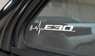 BMW E30 is in my Blood window sticker decals graphic
