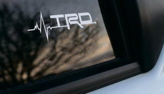 Toyota TRD is in my Blood window sticker decals graphic